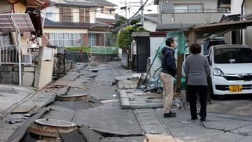 16-04-2016 16:41 Rośnie liczba ofiar kolejnego trzęsienia ziemi w Japonii. Ponad tysiąc rannych