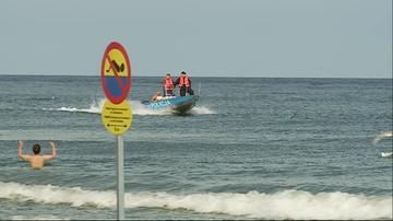 08-08-2016 11:39 Zwłoki znalezione na plaży w Sasinie koło Łeby