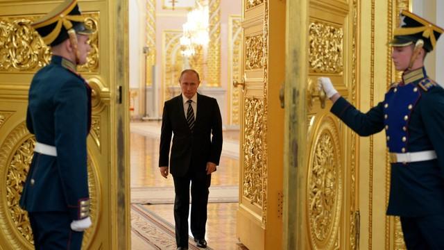 Asad w Moskwie - złożył hołd Putinowi