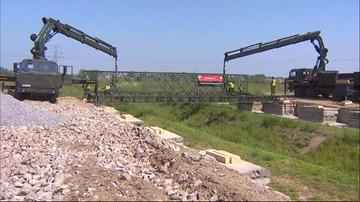 24-05-2016 13:08 W Brzegach powstają tymczasowe mosty na Światowe Dni Młodzieży