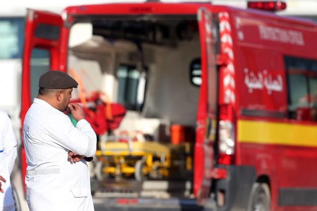 Samolot specjalny z lekarzami i psychologami w drodze do Tunisu