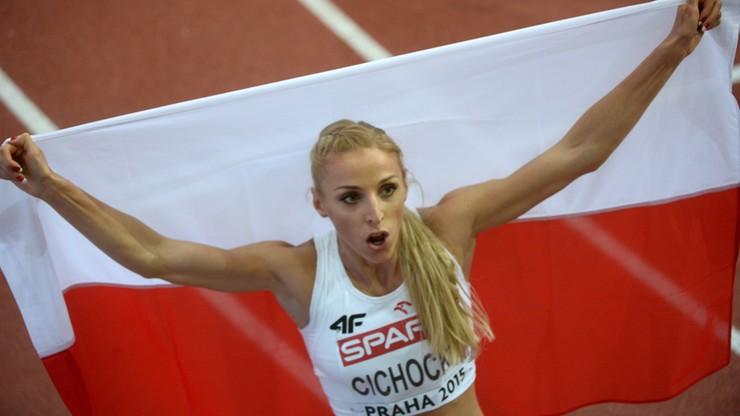 Angelika Cichocka halową wicemistrzynią Europy w biegu na 1500 m