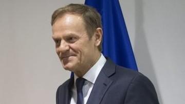 05-03-2017 15:49 Tusk jedynym kandydatem EPL na szefa Rady Europejskiej