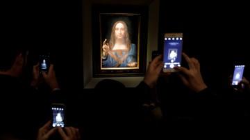 16-11-2017 06:19 Rekordowa cena za obraz Leonarda da Vinci. Licytacja trwała 19 minut