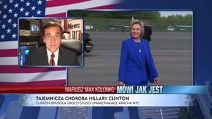 Tajemnicza choroba Hillary Clinton