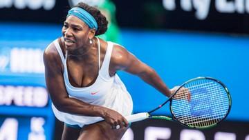 06-01-2016 14:05 Serena Williams wycofała się z Pucharu Hopmana