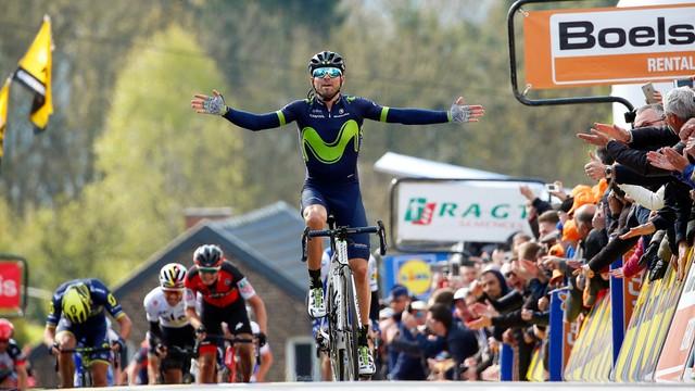 Strzała Walońska - Kwiatkowski siódmy, zwycięstwo Valverde