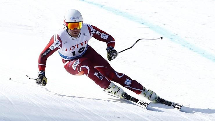 Alpejski PŚ: Jansrud najszybszy na trasie olimpijskiej