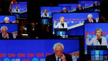 15-04-2016 06:11 Starcie Sandersa i Clinton w kolejnej debacie telewizyjnej
