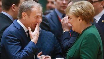 10-03-2017 15:48 Merkel: Tuska wybrało 27 krajów, z których tylko jeden był Niemcami