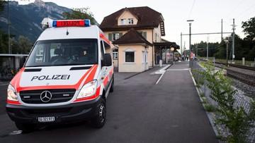 13-08-2016 19:27 Atak nożownika w Szwajcarii