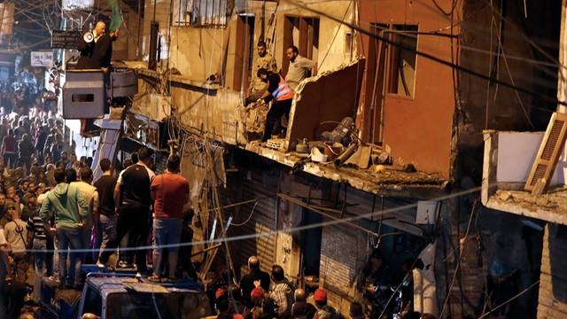 Samobójcze zamachy w Libanie - 37 osób nie żyje