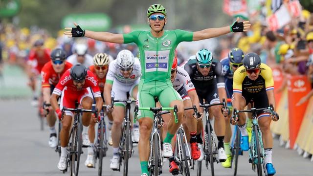 Tour de France - czwarte zwycięstwo Kittela, Froome nadal liderem
