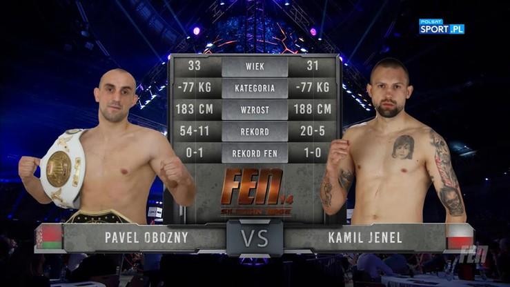 Pavel Obozny - Kamil Jenel. Skrót walki
