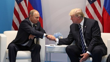 07-07-2017 20:09 Rozmowa Putin-Trump w Hamburgu. Prezydenci uzgodnili zawieszenie broni w Syrii
