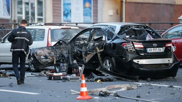 Kijów: Zamach bombowy w centrum Kijowa. Zginął gruziński ochotnik oskarżany o zabójstwo Basajewa