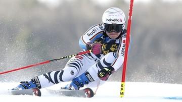 2017-12-29 Alpejski PŚ: Rebensburg prowadzi na półmetku giganta w Lienz