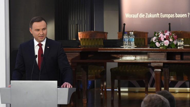 Prezydenci Polski i Niemiec w Warszawie o przyszłości Europy