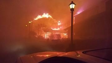 2016-12-02 13 ofiar śmiertelnych pożarów lasów w stanie Tennessee