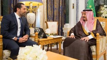 Rząd Libanu: premier Hariri przetrzymywany w Arabii Saudyjskiej