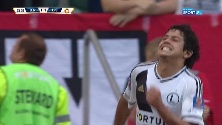2016-07-07 Legia - Lech 1:1. Gol Guilherme