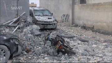 20-03-2017 11:14 Obserwatorium: naloty na wschodni Damaszek po ataku rebeliantów