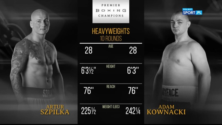 2017-07-16 Artur Szpilka vs Adam Kownacki. Skrót walki