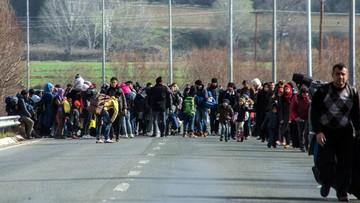 29-02-2016 11:34 Ponad 6 tys. migrantów utknęło na granicy grecko-macedońskiej