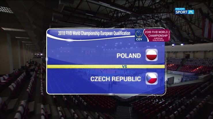 Polska - Czechy 2:3. Skrót meczu