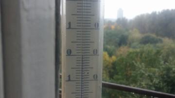 2016-10-05 Zero stopni na termometrach w Sosnowcu