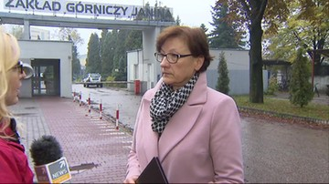Wstrząsy w kopalni Janina w Libiążu