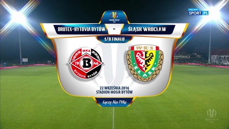 Drutex-Bytovia - Śląsk Wrocław 3:0. Skrót meczu