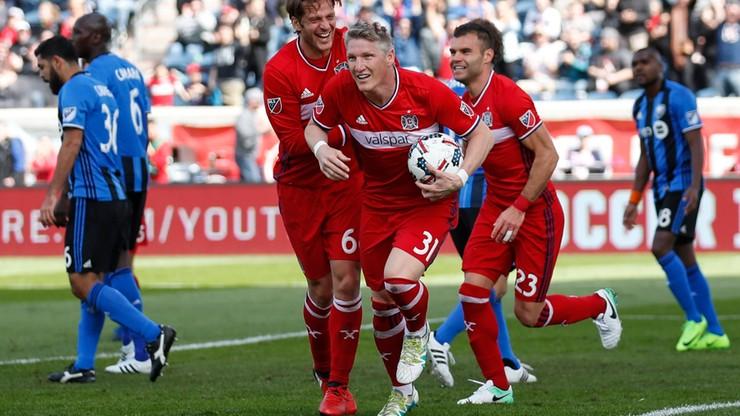 Gol Schweinsteigera w debiucie dla Chicago Fire