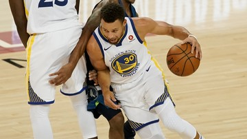 2017-11-20 NBA: Świetny mecz Curry'ego, Warriors pokonali Nets