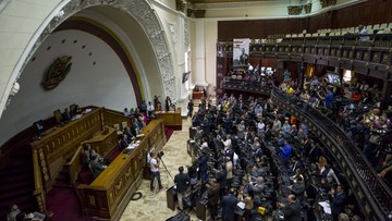 13-11-2017 13:12 UE zatwierdziła sankcje na Wenezuelę. Wzywa do wolnych wyborów