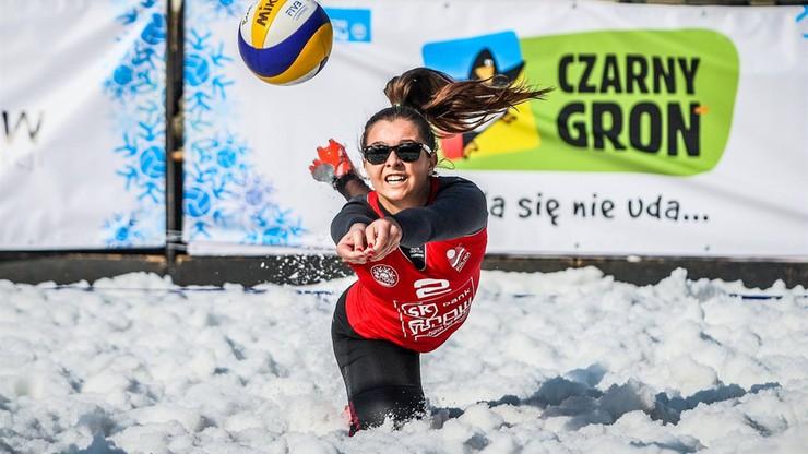 Snow Volley, czyli w siatkówkę można grać też na śniegu!