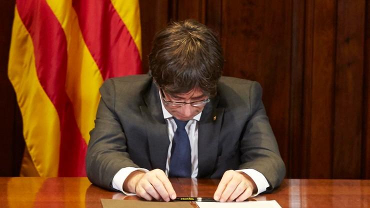 Hiszpańska prokuratura zapowiada zarzuty wobec władz Katalonii