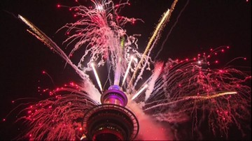 Nowa Zelandia i Samoa przywitały Nowy Rok