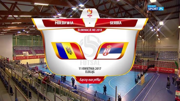 Mołdawia - Serbia 3:7. Skrót meczu