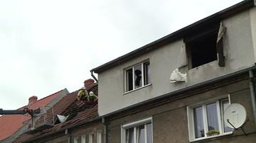 Trzy osoby poszkodowane w pożarze mieszkania w Słupsku. Mieszkańcy nie wrócili do domu