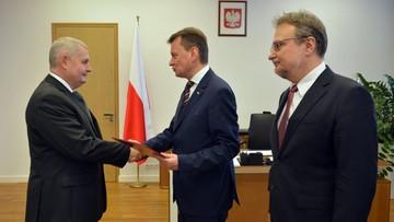 31-12-2015 11:05 Marek Łapiński nowym szefem Straży Granicznej
