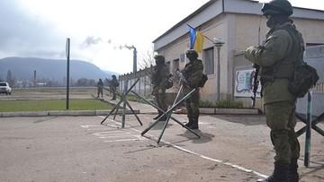 Rozpoczęła się budowa ogrodzenia między anektowanym Krymem a Ukrainą