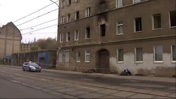 Pożar budynku w Szczecinie. Zginęły dwie osoby, 16 jest rannych