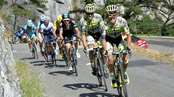 Vuelta a Espana: Grupa Majki grozi, że wycofa się z wyścigu