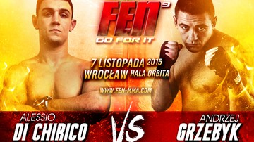 """2015-09-21 Grzebyk - Di Chiricio spotkają się na FEN 9 """"Go For It"""""""