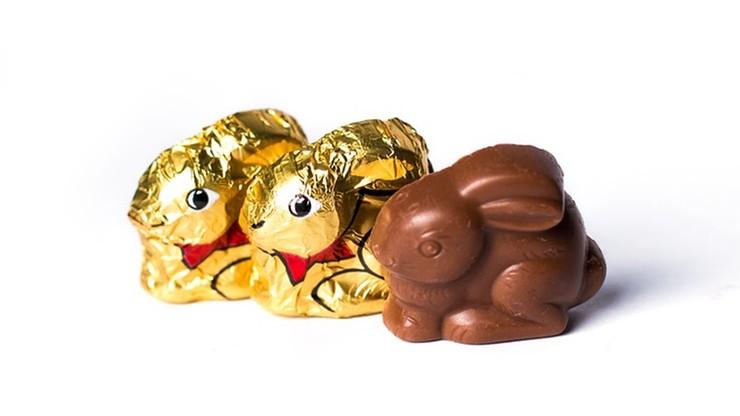 USA: wielkanocne zajączki z czekolady popularniejsze niż serca na Walentynki