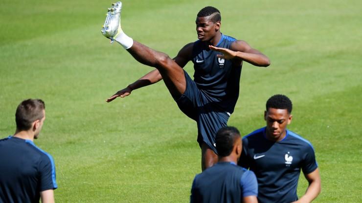 Wszyscy francuscy piłkarze trenowali w sobotę. Nikt z zawodników nie narzekał na urazy