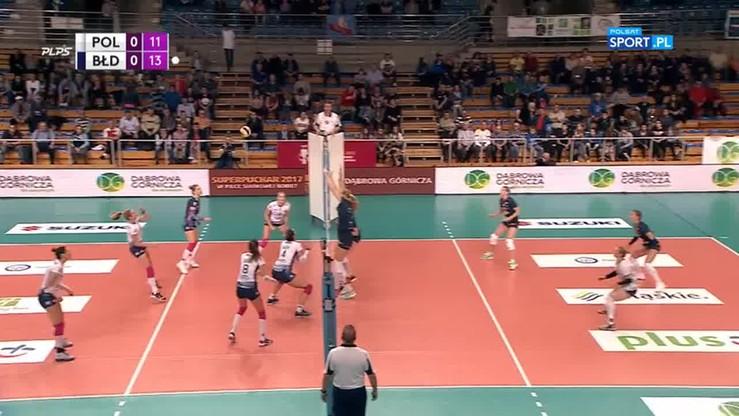 Grot Budowlani Łódź - Chemik Police 3:1. Skrót meczu