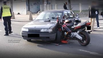 23-02-2017 18:21 Motocyklista czeka na odszkodowanie, a sąd na świadka, który wypadku nie widział