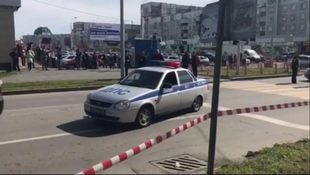 Rosja: Policja zastrzeliła nożownika, który ranił osiem osób